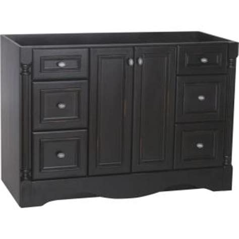 St Paul Bathroom Vanity by St Paul Valencia 48 In Vanity Cabinet Only In Antique