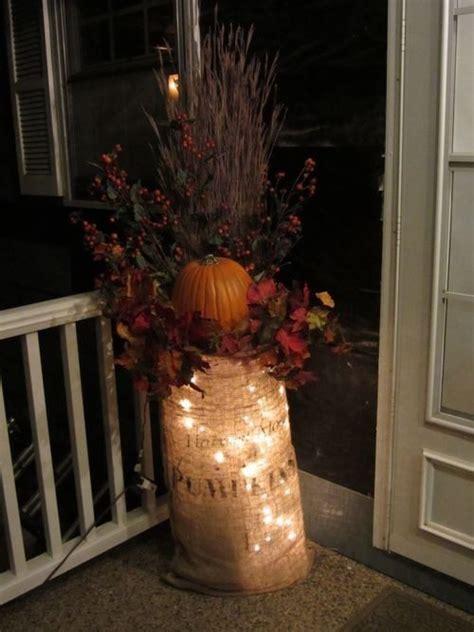 burlap lantern string lights 6 ways to light up this fall it s a wonderful light