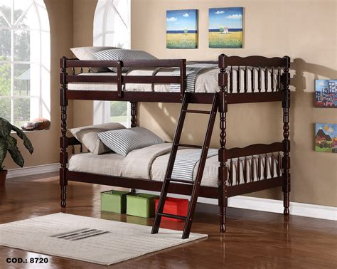cheap wood bunk beds bn bb07 cheap wooden bunk bed with small post baongoc