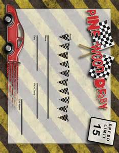 pinewood derby certificate template sugardoodle net