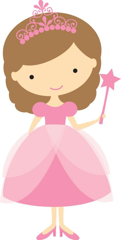 Pretty Princess Clip Art.   Oh My Fiesta! in english