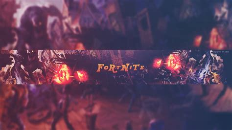 Ultimate Fortnite Youtube Banner Template Free Youtube Fortnite Banner Template No Text