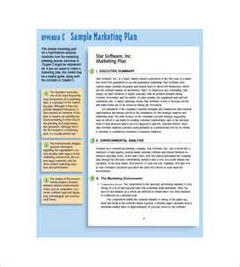 Marketing Plan Template For Small Business by Small Business Marketing Plan Template 10 Free Word