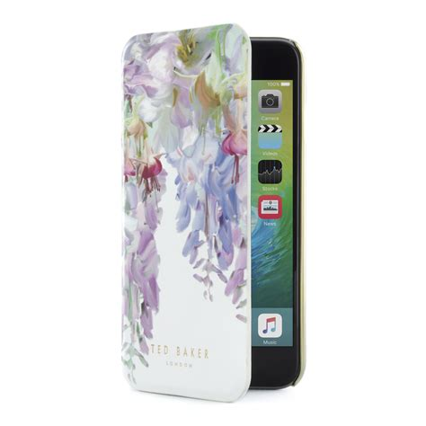 Ted Baker 12 For Iphone 6 ted baker womens floral luxury leather mirror cover