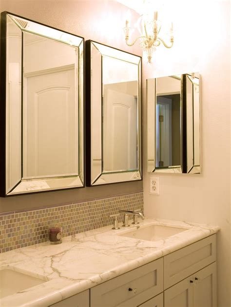 Bathroom Vanity Mirrors Contemporary Bathroom Photos Hgtv
