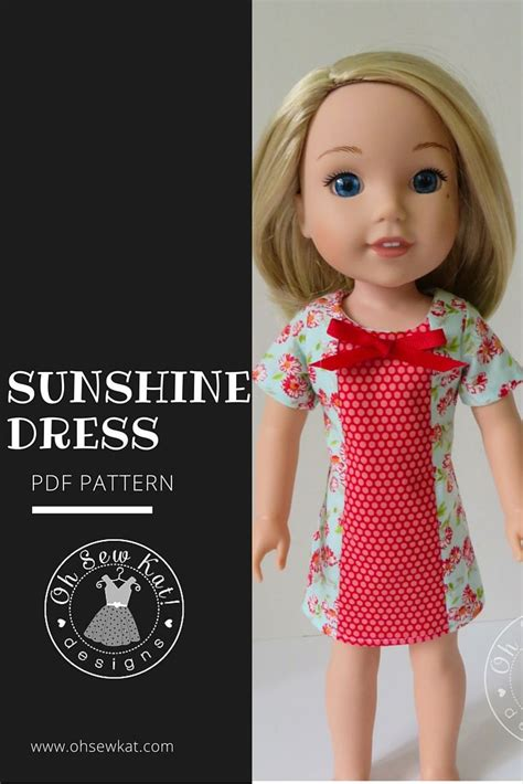 pattern kat dress 17 best images about wellie wishers patterns on pinterest