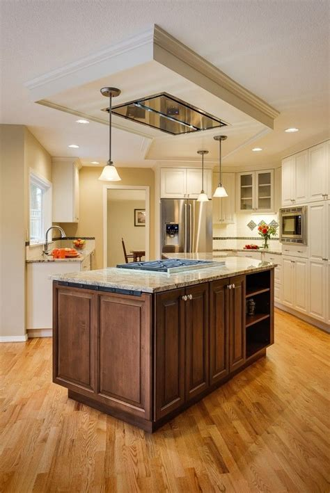 kitchen island hoods 24 best images about kitchen island hood fans on pinterest