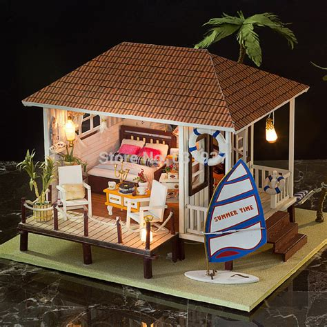 handmade dolls house miniatures compare prices on miniature beach house online shopping