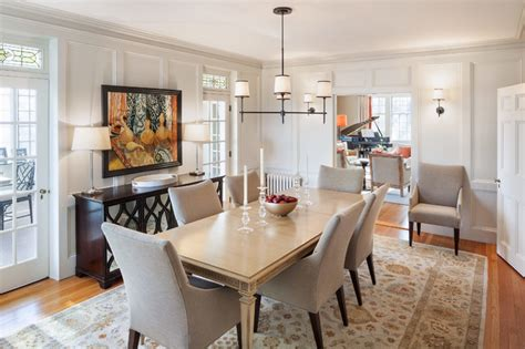 transitional dining room ideas cape elizabeth transitional dining room portland