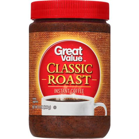 Great Value: Premium Instant Coffee, 8 oz   Walmart.com