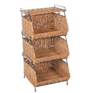 Home Designer 174 Suite rattan stackable filing baskets eco displayware storage