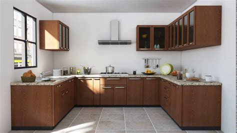 Indian Modular Kitchen Designs Indian Modular Kitchen Design U Shape