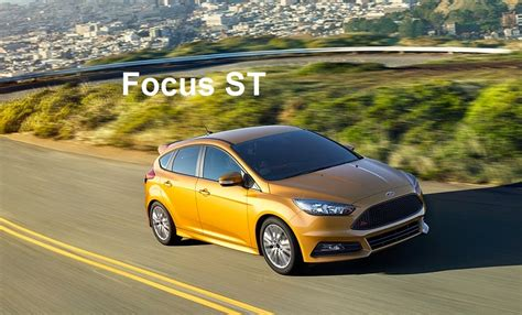 2014 Ford Focus St Horsepower by New 2015 Ford Focus St 2 0 L Ecoboost 252 Hp Car Reviews