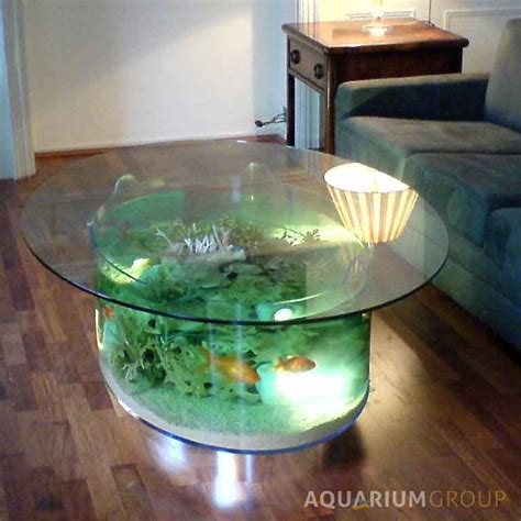 custom built coffee table aquarium aquariumgroup uk
