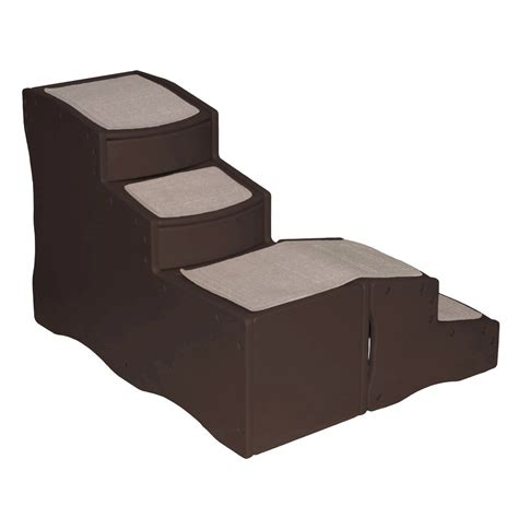 pet steps for bed pet gear easy step bed pet stairs radiofence com