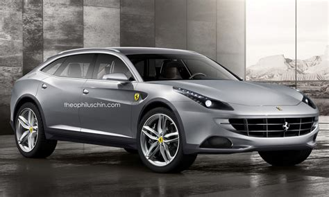 Autos von morgen: Kommt das Ferrari SUV? MyAuto24   DAS