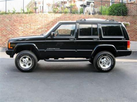 Used Black Jeep Sell Used Black 2001 Jeep Sport 4 Door 4 0l 6 Cyl