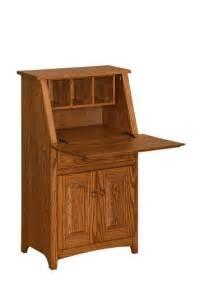 Secretary Desks For Small Spaces Amish Handcrafted Secretary Desk