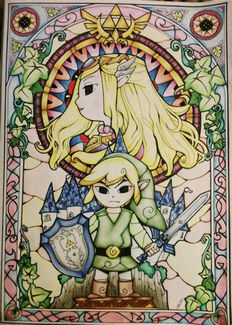 Link Triforce The Legend Of Princess Iphone All Hp the legend of the wind waker by haritte on deviantart