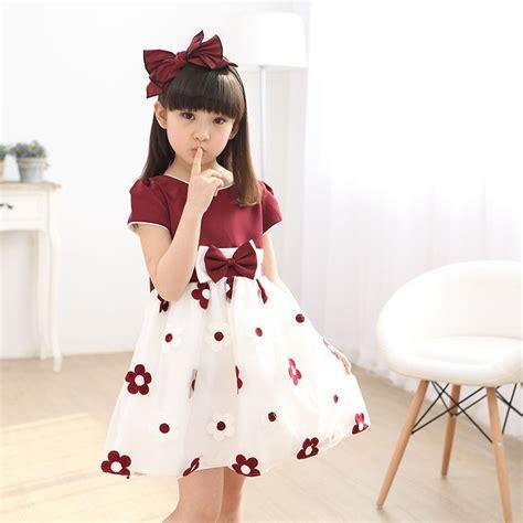 Summer New Korean Dress 670682 1 new brand baby dress 2017 summer korean fashion knee length clothing casual solid
