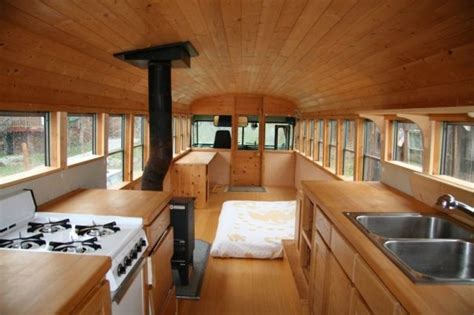 old school bus conversions interior bus conversions house buses archives the shelter blog