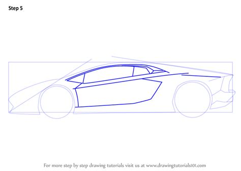 lamborghini sketch side view step by step how to draw lamborghini centenario side view