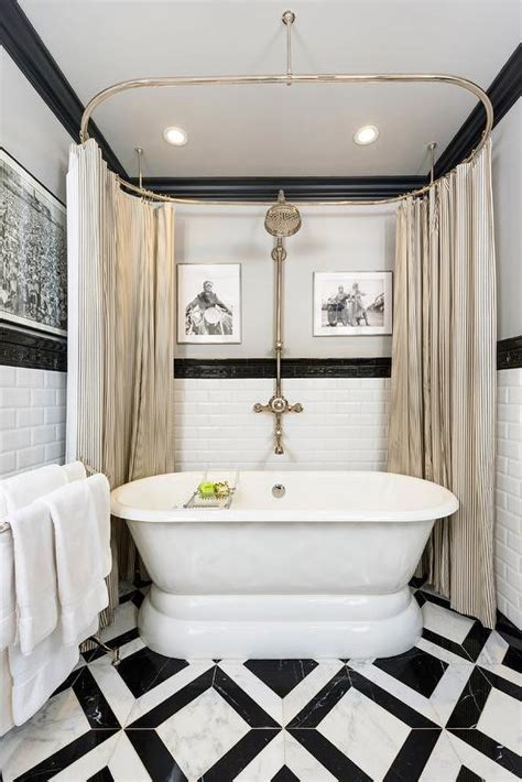 black and white bathroom contemporary bathroom jeff