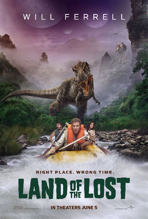 film lost dinosaurus land of the lost returns will ferrell dinosaurs and