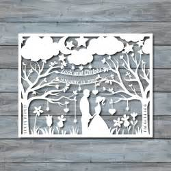paper cut out templates wedding paper cut template paper cut templates pdf by
