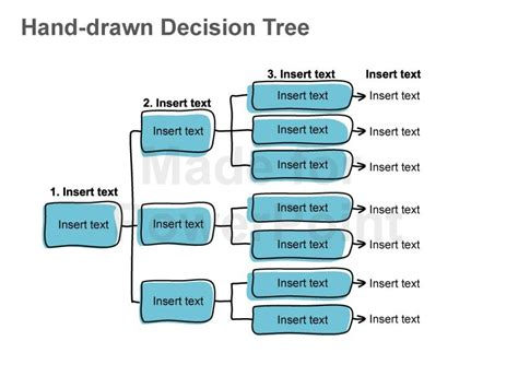 20 decision tree powerpoint template business
