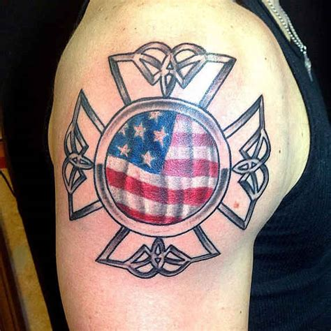 maltese cross tattoos firefighter 24 meaningful maltese cross tattoos