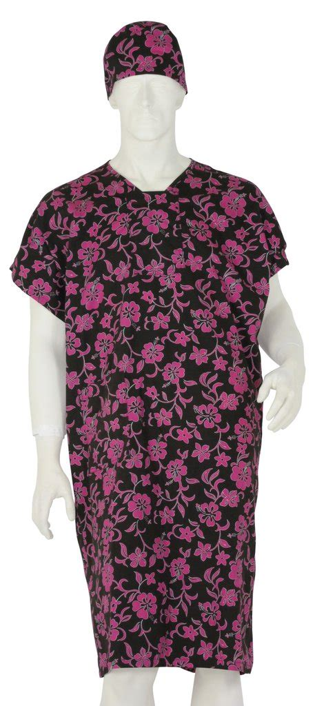 comfortable hospital gowns patient gowns pink lava flowers surgicalcaps com