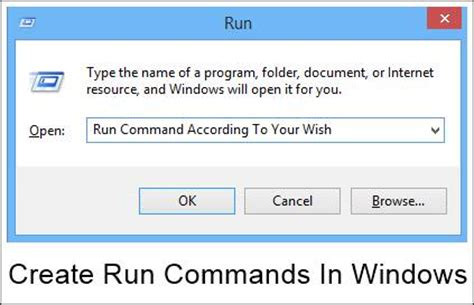 how to your commands how to create your own run commands in windows 4 methods