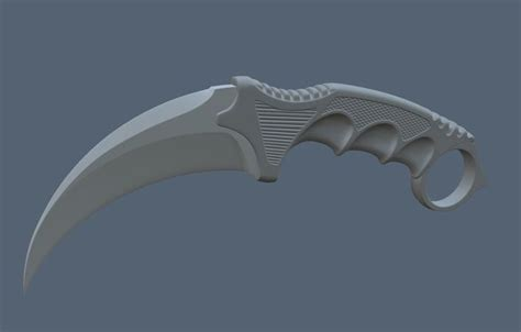 knife models 3d design knife cgtrader