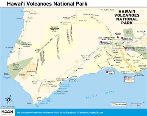 volcanoes in hawaii map hawaii volcanoes map bnhspine