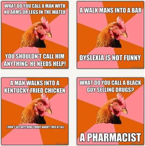 Chicken Meme Jokes - my friends don t think i m funny