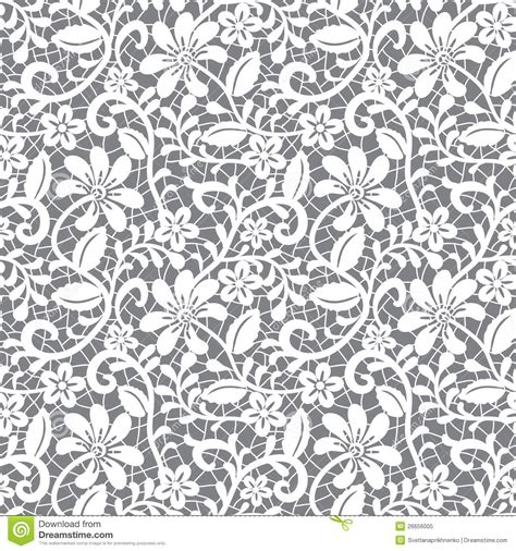 grey pattern clipart seamless lace floral pattern on gray background stock
