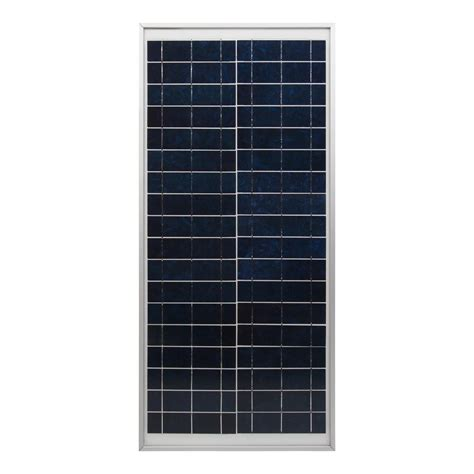 coleman 30 watt 12 volt crystalline solar panel 38003