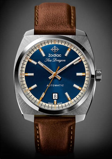 Swiss Navy Original 8936 Silver Rosegold watchismo times new zodiac sea automatic watches flawless vintage reissue