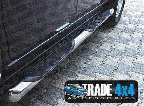 Mitsubishi L200 Side Steps Mitsubishi L200 Triton Side Steps Bars Xk Stainless Steel