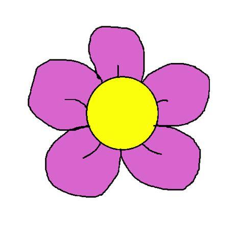 imagenes de flores infantiles a color dibujo de flor 3 pintado por primavera en dibujos net el