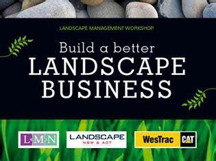 Landscape Management Network Build A Better Landscape Business Project Ods