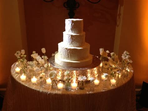 Cake Table Ideas by Cake Table Decor Bud Vases And Votives Flower Box