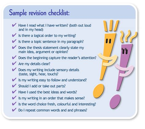 Revising An Essay by Process Essay Revision Checklist Researchmethods Web Fc2