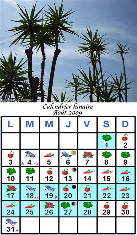 Calendrier Lunaire Novembre 2009 Jardiner Avec La Lune Au Mois D Ao 251 T 2009 Le