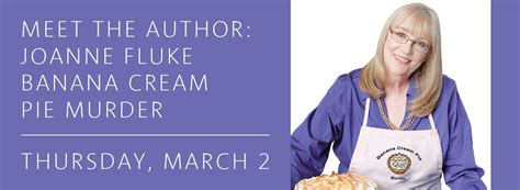 banana pie murder a swensen mystery books taste the with swensen at frisco library