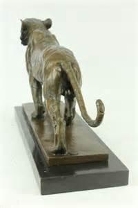 Jaguar Statues Bronze Tiger Big Cat Leopard Jaguar Panther