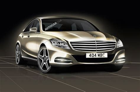 Mercedes Preview Future Mercedes S Class