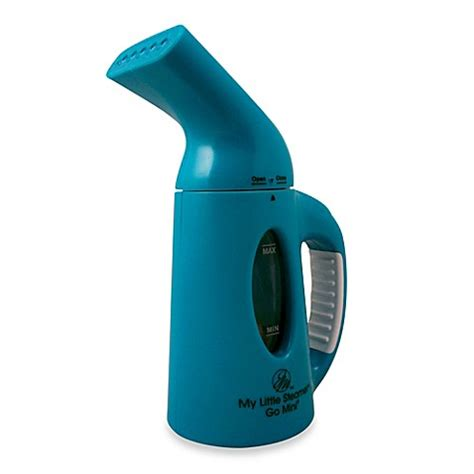 steamer bed bath and beyond buy joy mangano my little steamer 174 mini hand steamer in