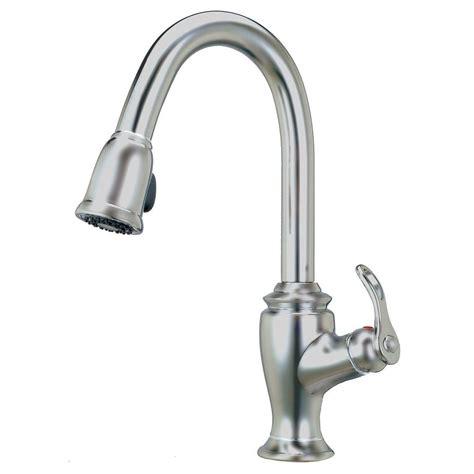 artisan kitchen faucets artisan premium single handle pull sprayer kitchen